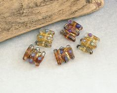 Some of my recently made lampwork beads -see more at https://www.ejrbeads.co.uk/shop/index.php?main_page=index&cPath=13