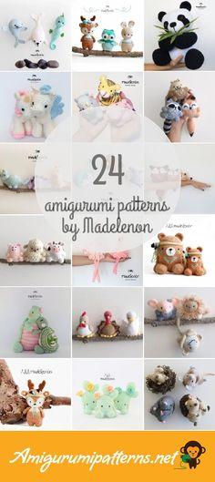 Amigurumi Patterns For Madelenon