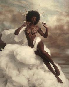 Black Girl Magic — kimreesesdaughter: Soooo grateful to fall into. Black Girl Art, Black Women Art, Black Girl Magic, Black Art, Art Girl, Black Girls, Black White, Angel Aesthetic, Black Girl Aesthetic