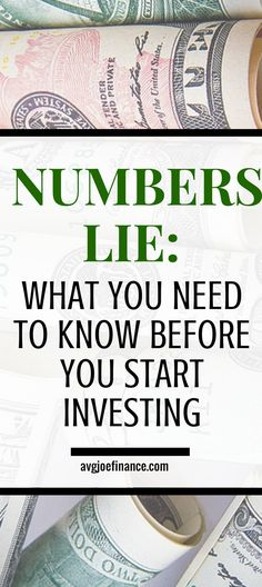 If it sounds too good to be true, it probably is. Numbers can be easily manipulated to get you to invest. Learn some of the ways you can be tricked so you don't fall victim to them. Money Tips, Money Saving Tips, Saving For Retirement, Early Retirement, Managing Your Money, Frugal Living Tips, Best Investments, Money Matters, Finance Tips