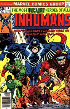 Inhumans (1975 1st Series) 8