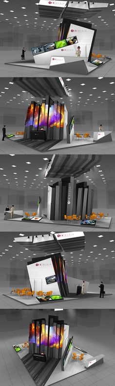 REDMEDIA exhibition stand. In animation: http://vimeo.com/31807356