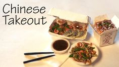 Easy Chinese Takeout - Stir Fry & Dumplings - Polymer Clay Tutorial