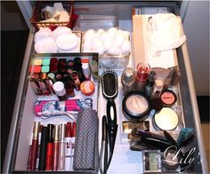 Make-up drawer - Organize your Bathroom