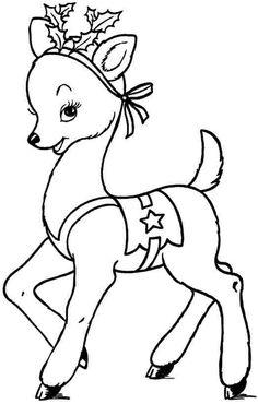 46 Best Deer Coloring Pages Images On Pinterest Deer Coloring
