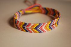 broken chevron friendship bracelet $6.00