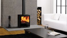 images of rooms with modern wood stoves   Woodburning in a modern setting   Stovax & Gazco Wood Burning Stoves