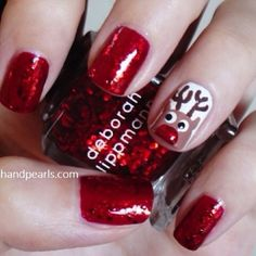 Chritsmas Nails - I can't wait to do my nails for Christmas!