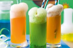 Create explosive fun in the kitchen with these fizzy potions.