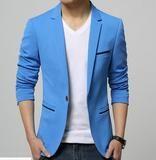 Blazer Masculino Importado Slim Fit 7 Cores-Roupas & Moda