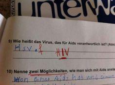 """""""Wie heißt das Virus, das für Aids verantwortlich ist?"""""""