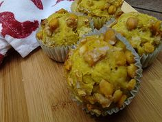 Curry Chickpea muffins