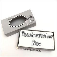 Taschentücherbox - Anleitung - We Must Celebrate - Gute Besserung - Stampin´Up!