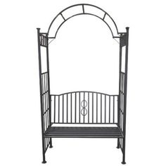 Toscana Steel Arch-style Arbor Bench - Overstock™ Shopping - Big Discounts on Gazebos