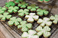 St. Patrick's Day Cookies  The Best Rolled Sugar Cookies And Royal Icing Recipe