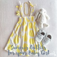 The heat is quite frankly unbearable during the summer months. We want to make sure that baby is cozy and cozy. Here are some summer outfits we suggest.