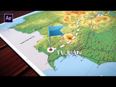 After Effects Tutorial - Animated Traveling Map [INDONESIA] - YouTube
