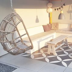 21 ideas for flooring concrete diy patio Home Decor Inspiration, Garden Inspiration, Style Tropical, Deco Paris, Terrace Floor, Cozy Patio, Outdoor Living Rooms, Patio Makeover, Exterior Remodel