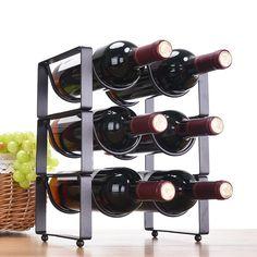 Cheap Wine Bottle Rack, Buy Quality Shelf Wine Directly From China Bottle  Rack Suppliers: XXXG Modern Minimalist Decoration Wine Bottle Rack Wine Wine  Frame ...