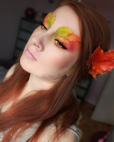 Soft Autumn Make Up Trends, Looks & Ideas For Girls 2014 Christmas Makeup Look, Halloween Makeup Looks, Makeup Trends, Woodland Fairy Costume, Fairy Costumes, Woodland Fairy Makeup, Fairy Costume Makeup, Nymph Costume, Tree Costume