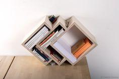 The Drap shelf by Russian designer and craftsman Vladimir Soveng