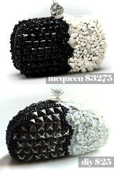 How to make a beaded clutch using a sunglasses case. And save $3250!