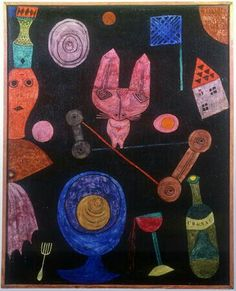 Paul Klee- 'Colourful Meal' - (1928)