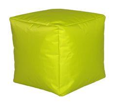 Sitzwürfel Nylon 40x40cm Sitzsack Hocker Sitting Bag KC1012 Wohndesign