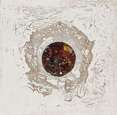Resinas pigmentos naturales y arena sobre tabla. Autor: Frutos María. Resins, Painting Abstract, Abstract, Author, Paintings