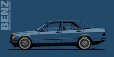 Artwork for fun Mercedes Benz World, Old Mercedes, Mercedes Benz 190e, M Benz, Mercedes Benz Wallpaper, Bmw Cars, Go Kart, Cars And Motorcycles, Cool Cars
