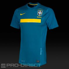 Nike - Brasil Authentic Away S/S Jersey - Dark Teal