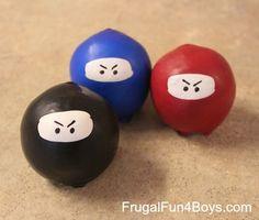 Ninja Stress Balls