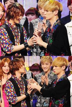 Twitter / xoxJinKiss: Why not put these two on WGM ... Onew & Key
