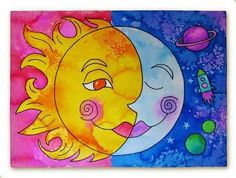 Image result for warm and cool colors painting