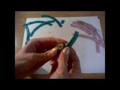 Как сделать круглый элемент из кожи/How to make a circular element from leather - YouTube