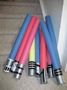 For Solfege Wars! A game taught by John Fierabend at a Conversational Solfege Workshop. Put a staff on the board with the pitches the kids are learning (without rhythm) (ex. mi, re, do). You call the pitch, 1st kid points with the light saber and sings it, then call another pitch and Kid #2 points and sings w/ light saber (while the 1st kid is STILL singing his/her pitch) THEN while kid #2 is singing call another pitch for kid #1 ) First kid to mess up is out, let another kid go, last kid…