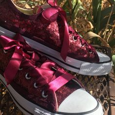 79ab2d721 Select Your Color of Starlight Sequin Name Brand Canvas Low Tops