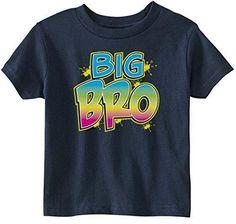 Lil Shirts Little Boys Big Bro Toddler Graphic Tee