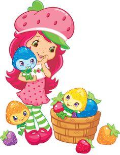Imagens Moranguinho, Moranguinho Baby e Nova Moranguinho