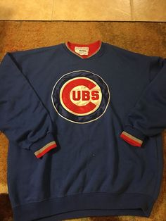 Starter Chicago Cubs Sweatshirt | eBay