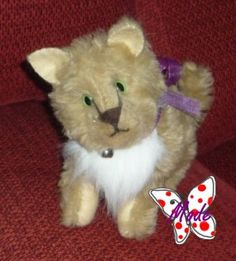 SOFT DOLL CAT, ADOPTED. BY MODE'S DOLLYS