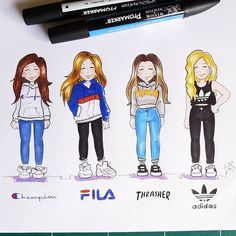 Comment which Style is your FAVE?!💞 Follow us @justartshelp By @laurene.artist