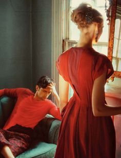 Bottega Veneta Spring 2010 advertising campaign, photographed by Nan Goldin.