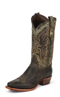 Tony Lama Western Boots Mens Leather Thunder Bird Chocolate 6064 #TonyLama #CowboyWestern