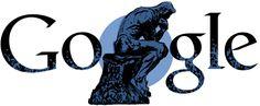 12 novembre 2012 - Il #doodle di #Google oggi è dedicato all'artista francese Auguste Rodin, del quale si celebra oggi il 172^ anniversario della nascita (clic sul doodle per leggere l'articolo)