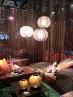 Missoni Home's booth - Pavilion 20, A11-B08 #milan2012