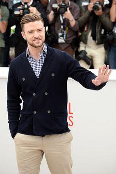 Timberlake in Cannes Sharp Dressed Man, Well Dressed Men, Mens Fashion Blog, Look Fashion, Estilo Dandy, Beautiful Men, Beautiful People, Mode Bcbg, Estilo Cool