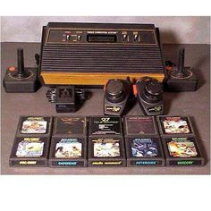 Atari 2800 with the wood paneling. At the risk of sounding ancient...I had one.