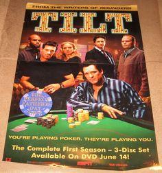 Tilt TV Show Poster 27x40 Used (2005) Michael Madsen, Chris Bauer, Kristin Lehman