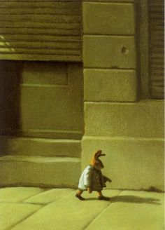 Michael Sowa ..... not that scary..but I'M SCARED  for the little guy...all alone.. in the big city...